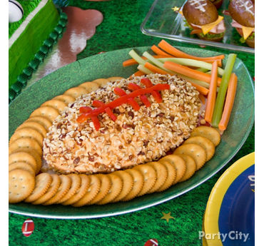 Football Cheese Ball Idea