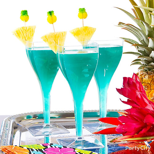 Tropical Blue Hawaiian Cocktail Recipe