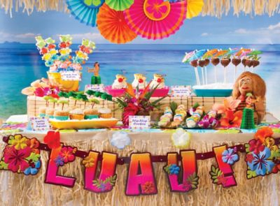 Luau Party Ideas Party City Party City