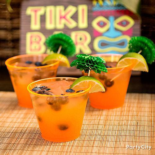 Tropical Juice Fizz Idea