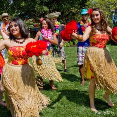 Luau Party Dance Lessons Idea