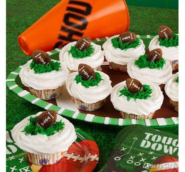 Football Cupcakes Idea