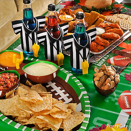 Football Food Table Ideas