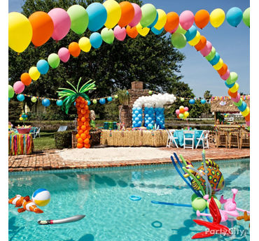 Summer Pool Party Ideas Summer Party Ideas Theme Party Ideas Party Ideas Party City