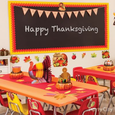 Fall Class Owl Decorating Idea Thanksgiving Class Party Ideas