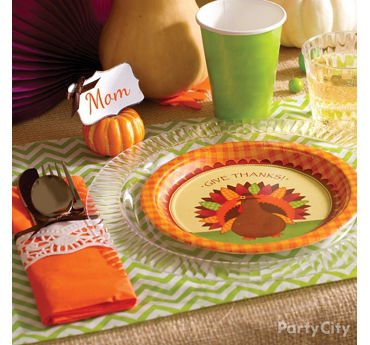Trendy Thanksgiving Place Setting Idea