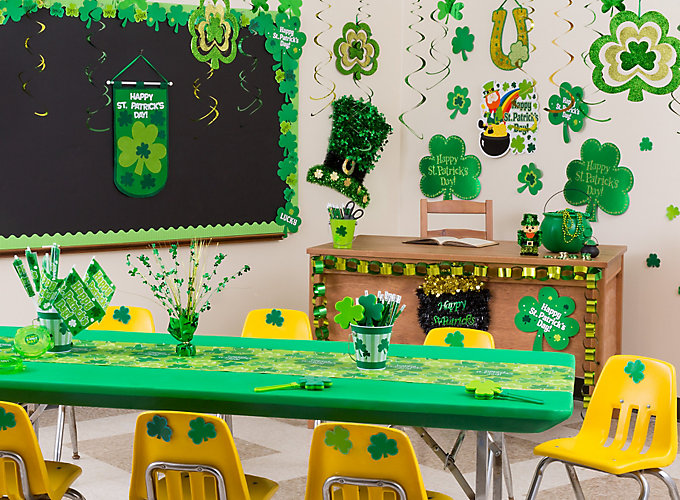 Classroom Event Ideas ~ St patricks day class party ideas
