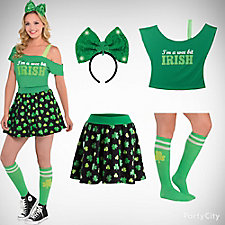 St. Patricks Cute and Sweet Outfit Idea