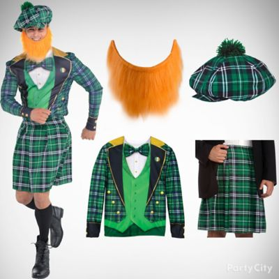 St. Patricks Leprechaun Look Idea