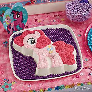 Pinkie Pie Cake How To