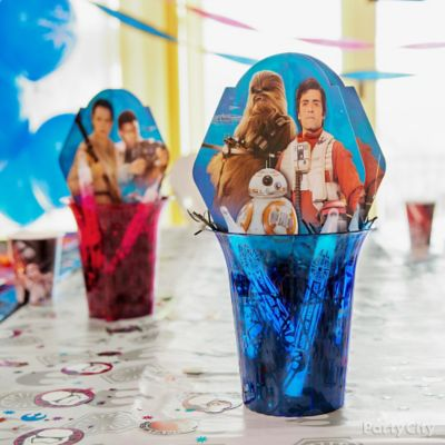 Star Wars DIY Centerpiece Idea