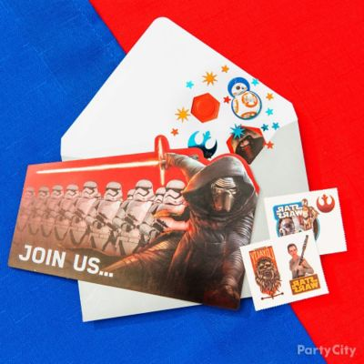 Star Wars Invite with Surprise Idea