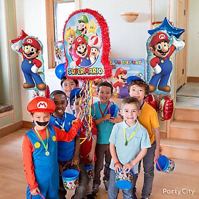 Super Mario Pinata Game Idea