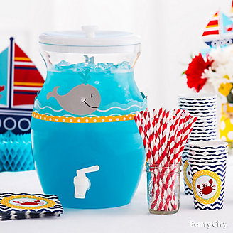 Ocean drink nautical baby shower idea
