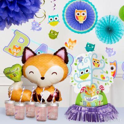 Woodland Baby Shower Decorations Idea
