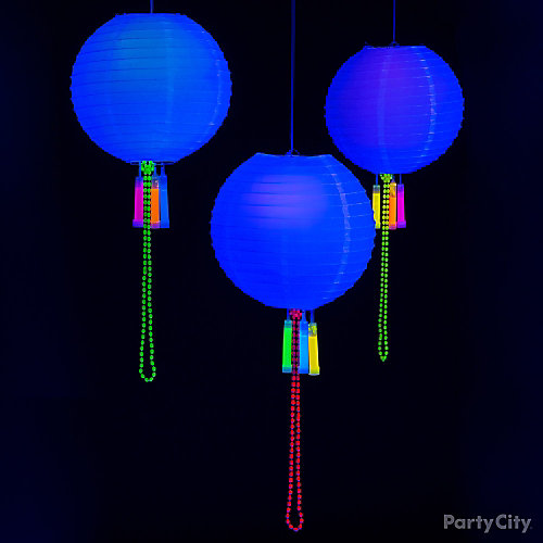 DIY Glow in the Dark Lanterns Idea