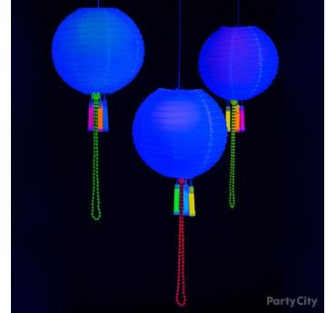 DIY Glow in the Dark Lanterns Idea