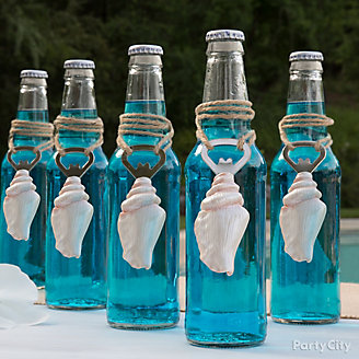 Ocean Blue Drink Idea