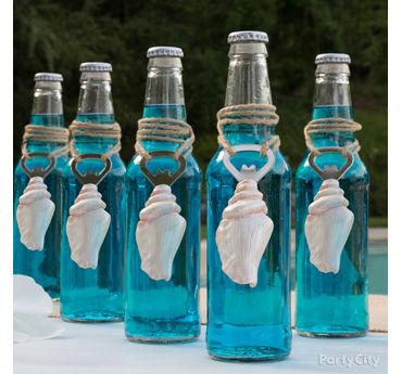 Ocean Blue Drink Idea