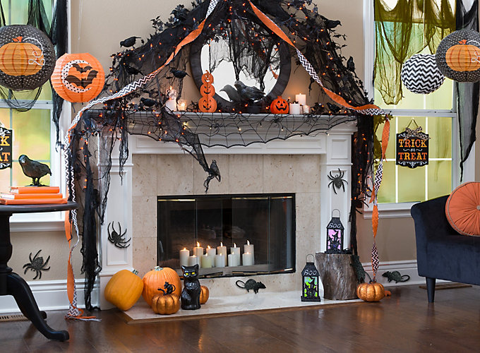 Orange and Black Modern Halloween Ideas