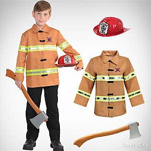 Boys Firefighter Idea