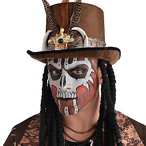 Witch Doctor Makeup How To