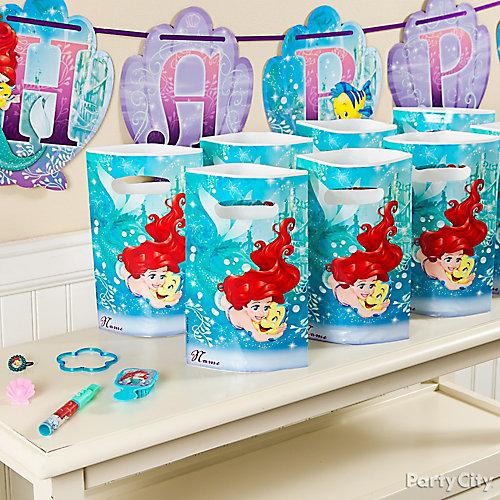 Little Mermaid Favors for 8 Idea