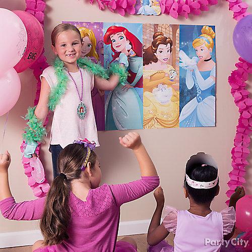 Disney Princess Pin It Game Idea