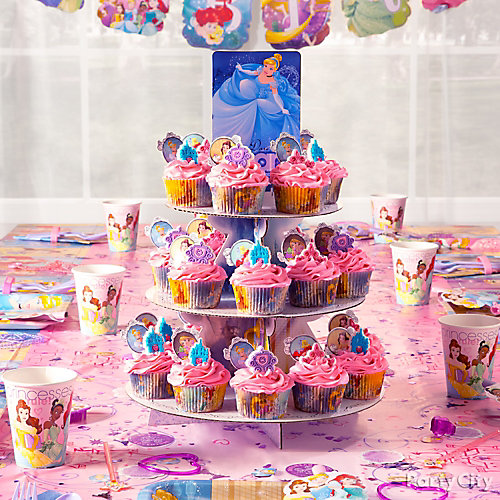 Disney Princess Cupcake Tower Idea