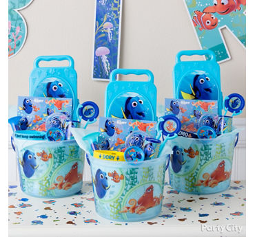 Dory Favor Bucket Idea