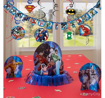 Justice League Essential Decorations Idea