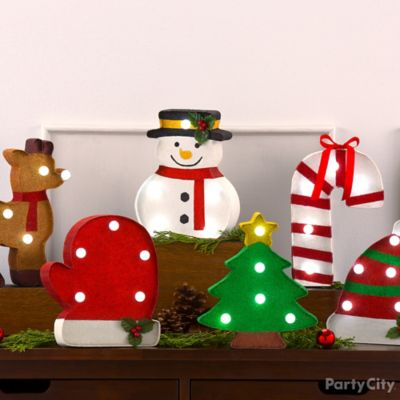 Cheery Characters Decor Idea