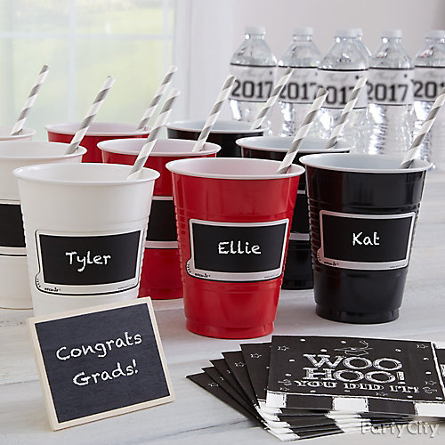 Chalkboard Drink Tag Idea