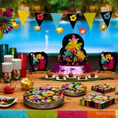 Neon Paradise Party Ideas