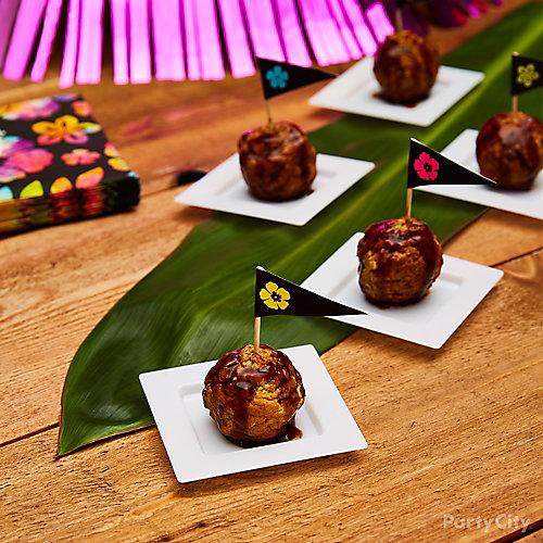 Mini Meatball Bites Idea