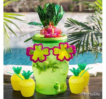 Tropical Drink Dispenser Idea