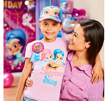 Shimmer and Shine Birthday Outfit Idea