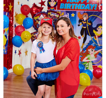 DC Super Hero Girls Birthday Outfit Idea