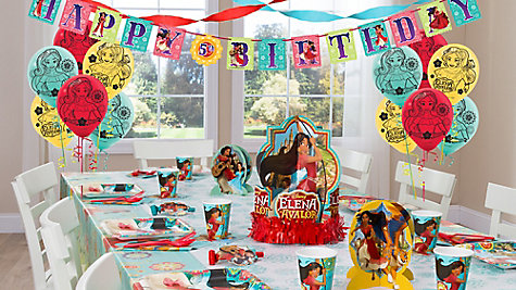 Elena Of Avalor Party Table Idea