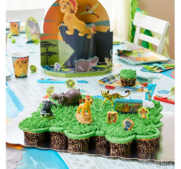 Lion Guard Pull Apart Cupcake Cake