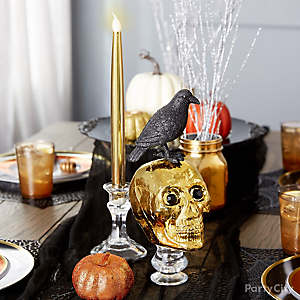 Spooky Chic Centerpiece Décor Idea