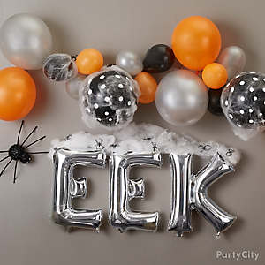 Eek Balloon Arch How-to