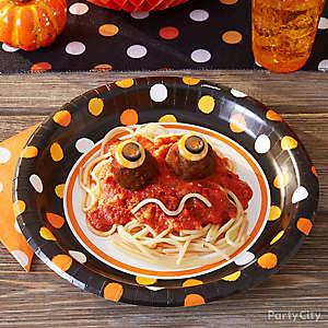 Eyeballs Spaghetti Idea