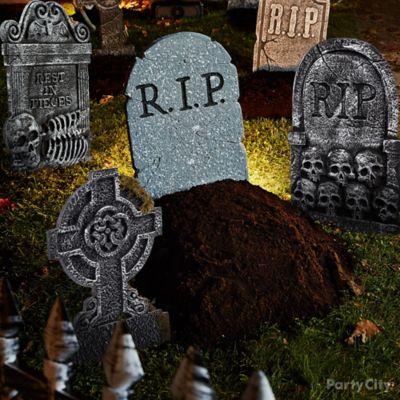 Freshly Dug Grave Idea