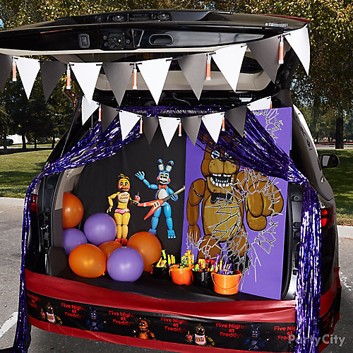 Five Nights At Freddy S Trunk Or Treat Idea Trunk Or