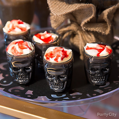Whiskey Skull Shooters Recipe