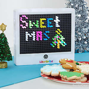 Holiday Cookie Party Light Sign Idea