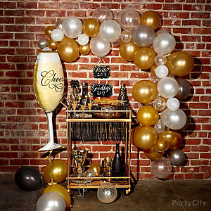 Balloon Arch Bar Cart