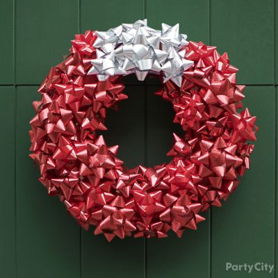 DIY Bow Wreath