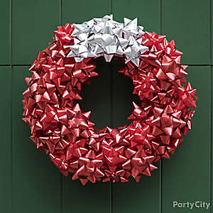 DIY Bow Wreath